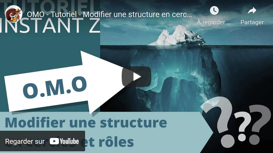 🔎 OMO – Modifier une structure en cercles et rôles