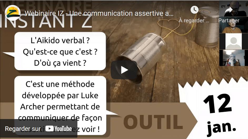 Webinaire communication assertive - Instant Z