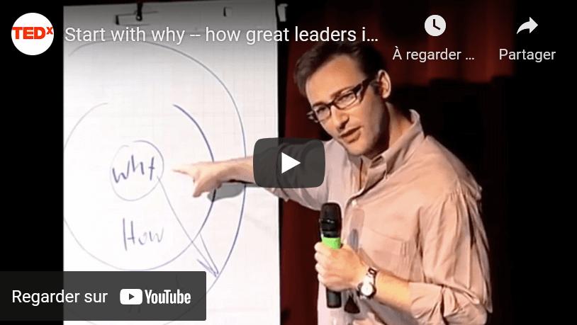 🔎 La notion du «Pourquoi» – TedX de Simon Senek